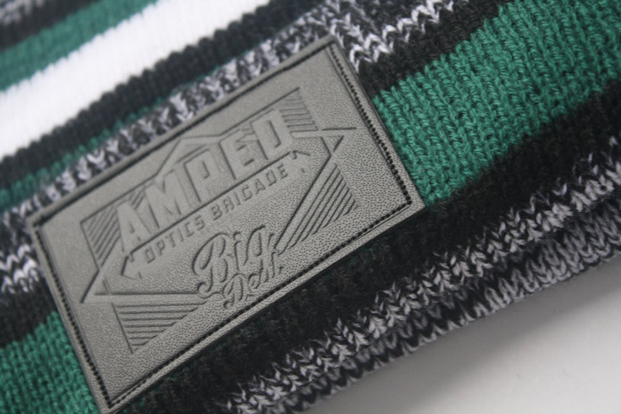 NFL Beanie in Green/Black/White