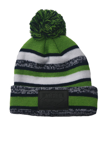 NFL Beanie in Green/Navy/White