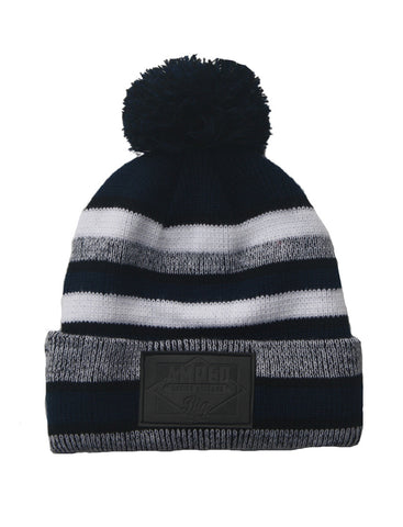 NFL Beanie in Navy/Black/White