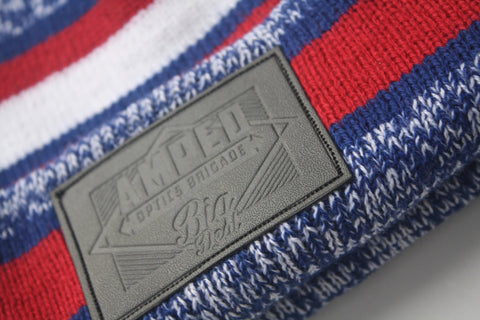 NFL Beanie in Red/Blue/White