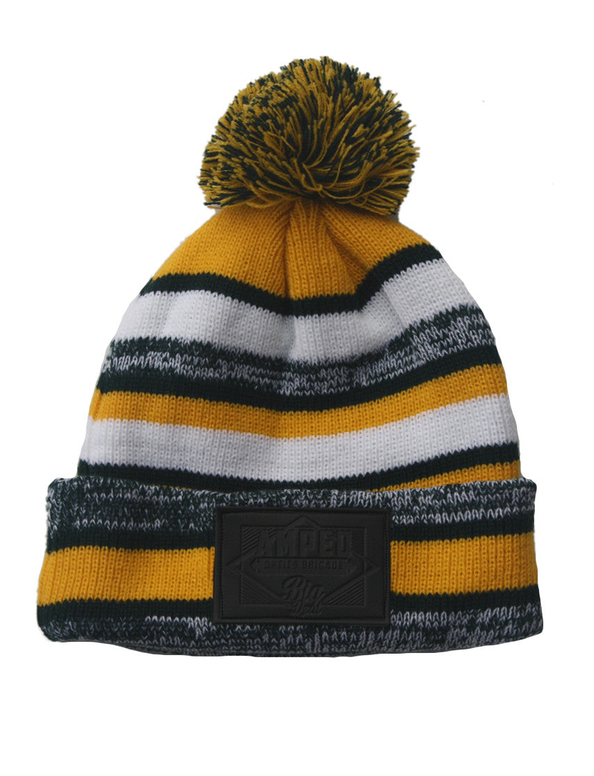 NFL Beanie in Yellow/Green/White