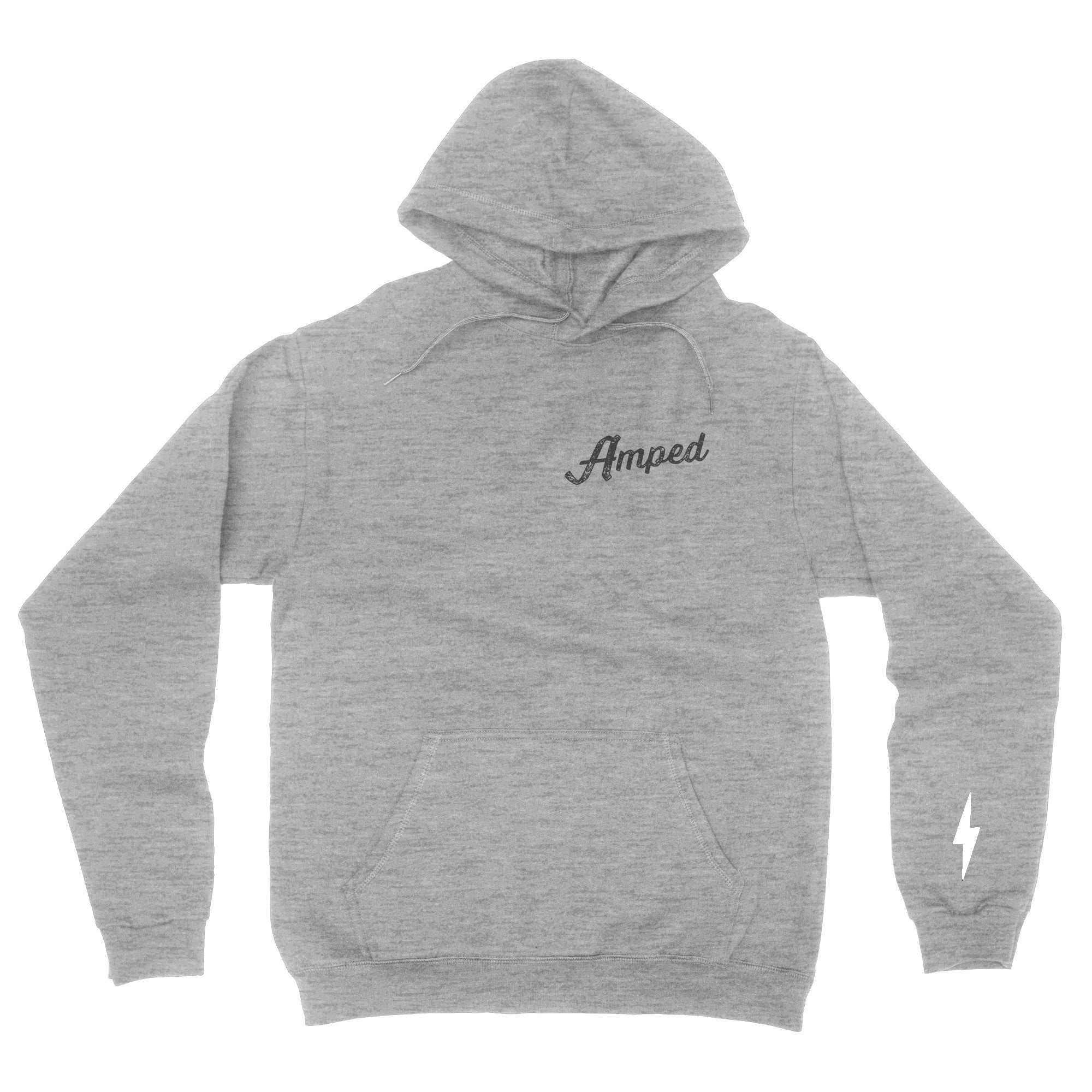Night Rider Hoodie / Heather Grey