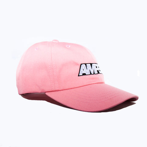 Power Strapback Hat in Pink