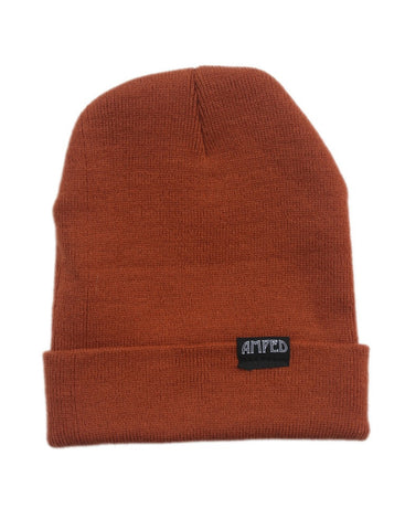 Primary Beanie in Burnt Orange