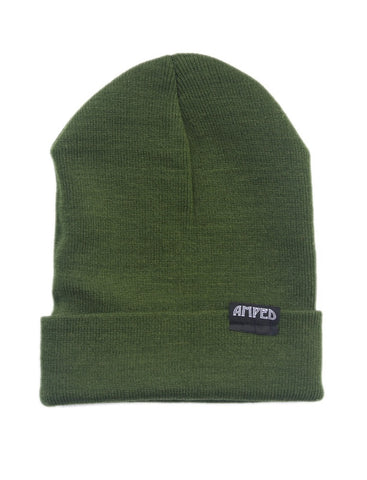 Primary Beanie in Olive