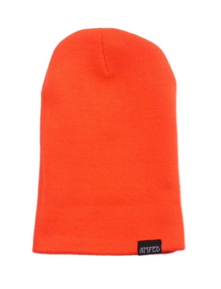Primary Beanie in Neon Orange