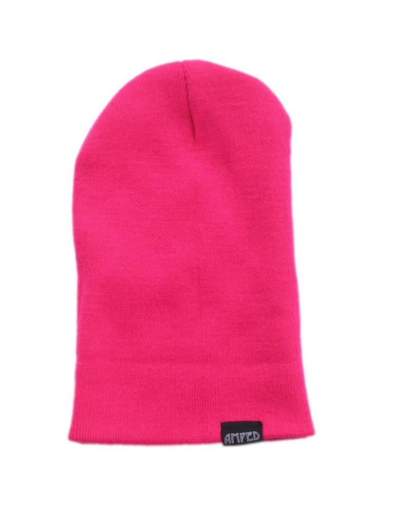 Primary Beanie in Neon Pink