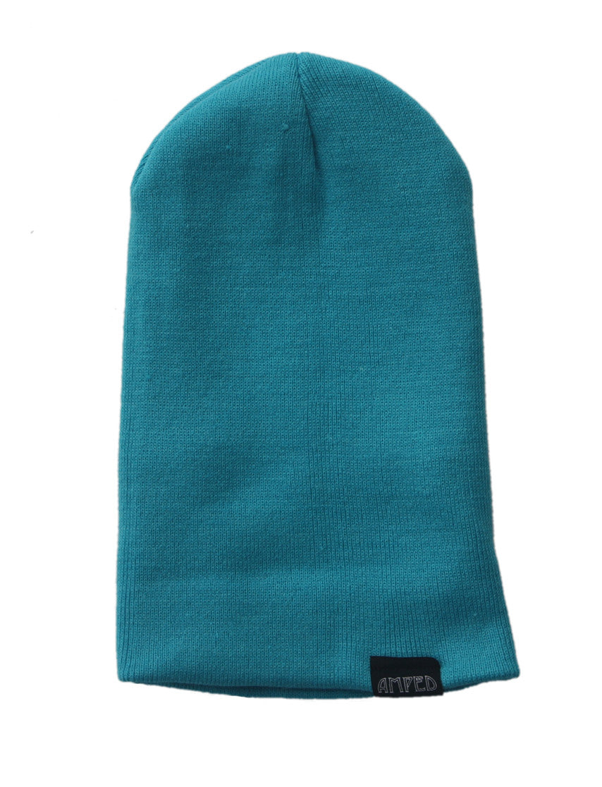 Primary Beanie in Aqua