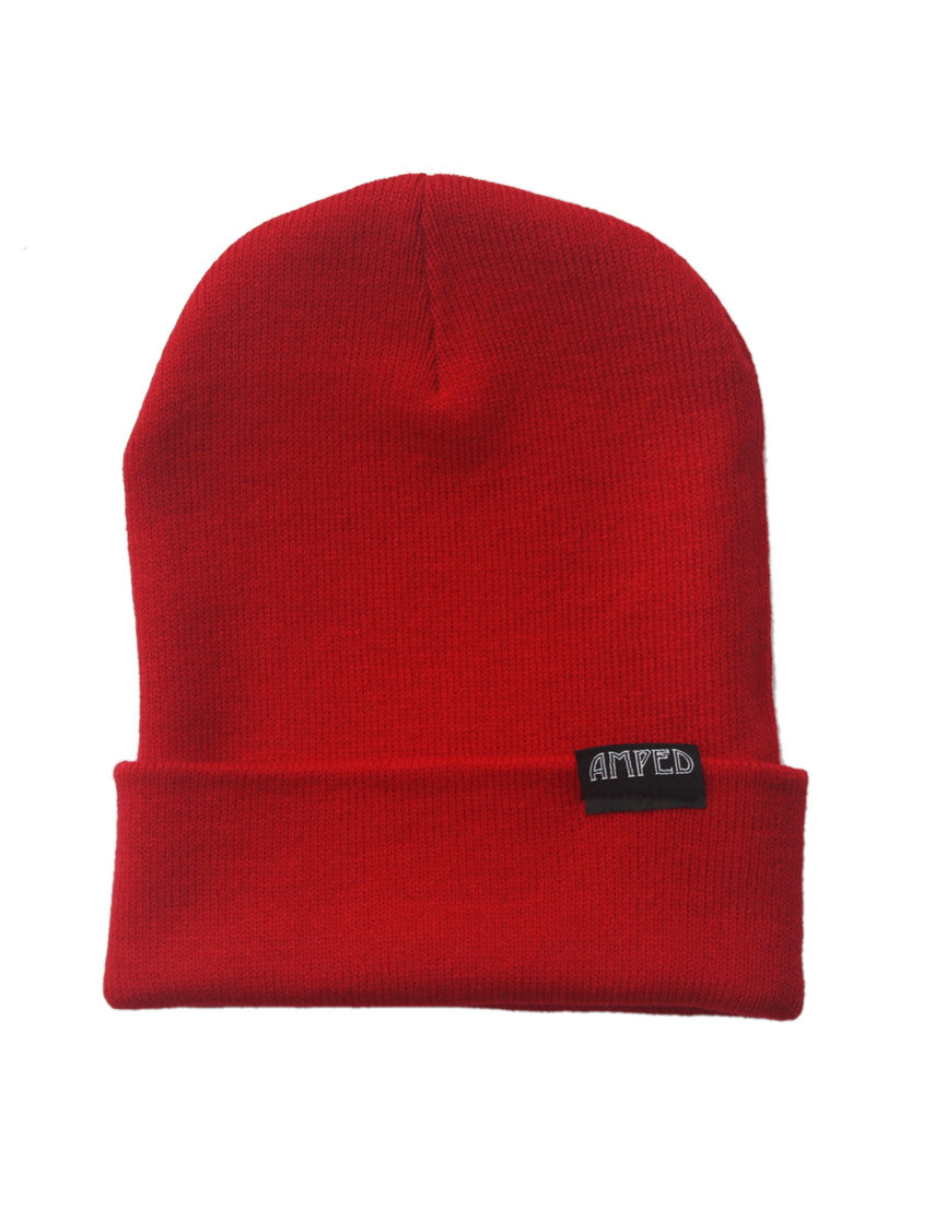 Primary Beanie in Red