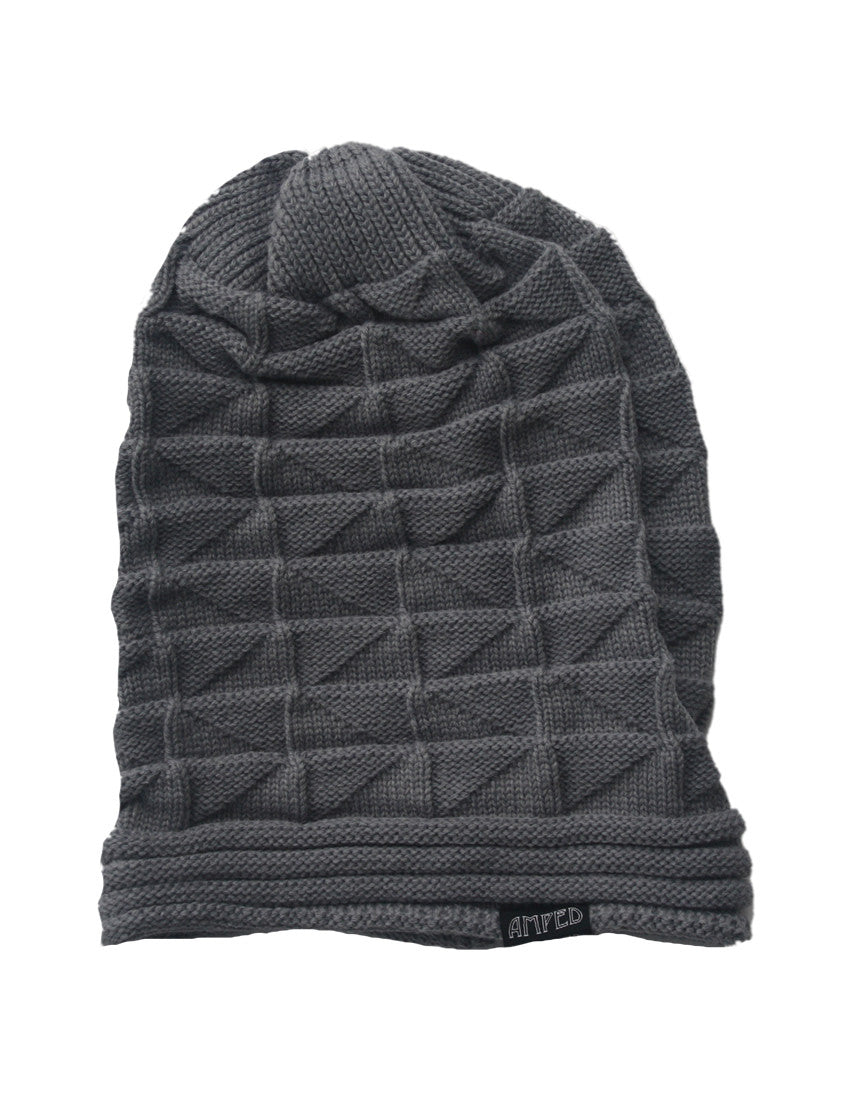Sag Crimped Beanie in Grey
