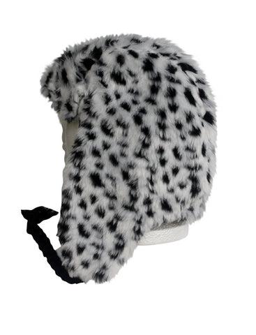Trooper Cap in Snow Leopard