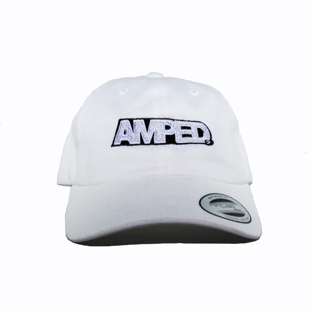 Power Strapback Hat in White