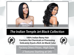 THE INDIAN TEMPLE JET BLACK COLLECTION