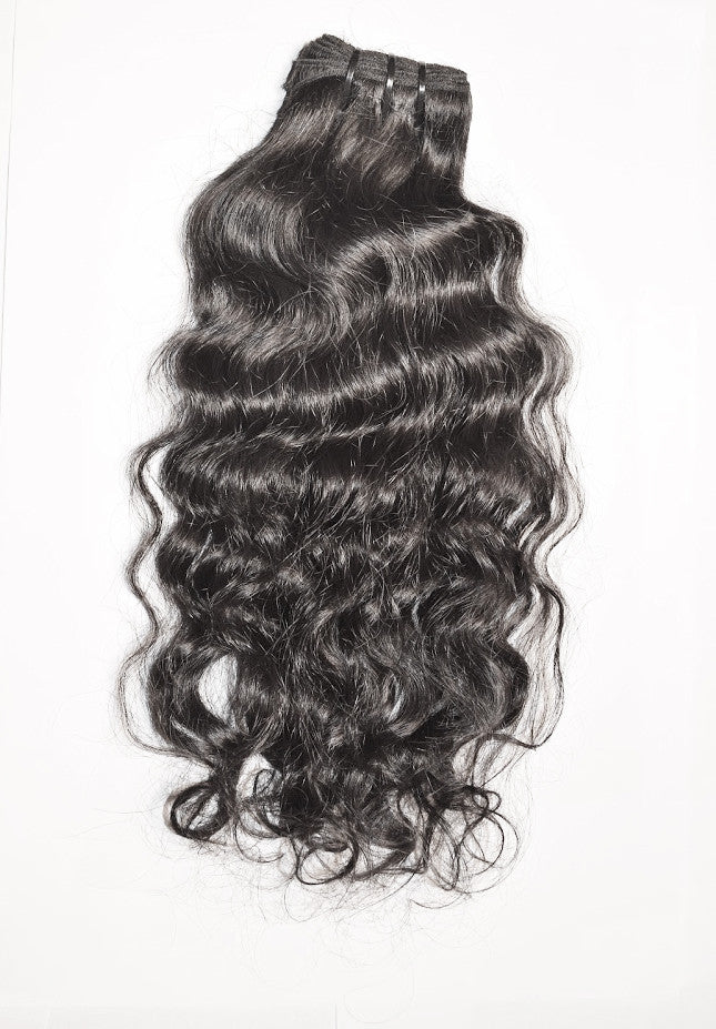 Enriched Silky Relaxed Straight Hair Extension Pure Indian Hair