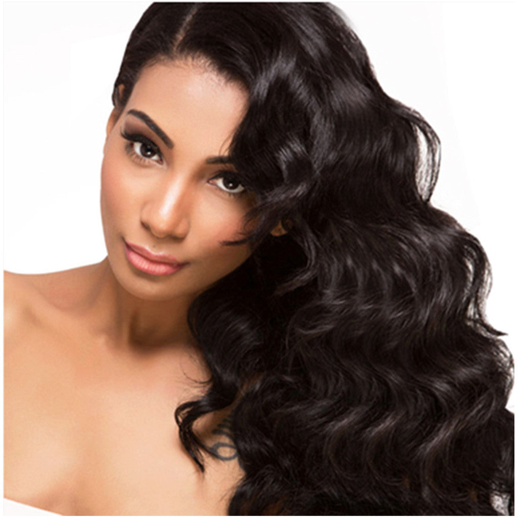 WAVY HAIR EXTENSIONS Pure Indian Hair - Wavy hair