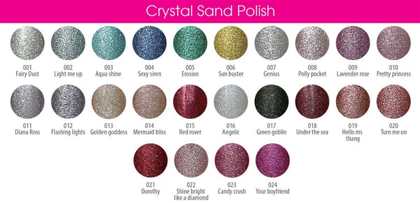 Crystal Sand Lacquer