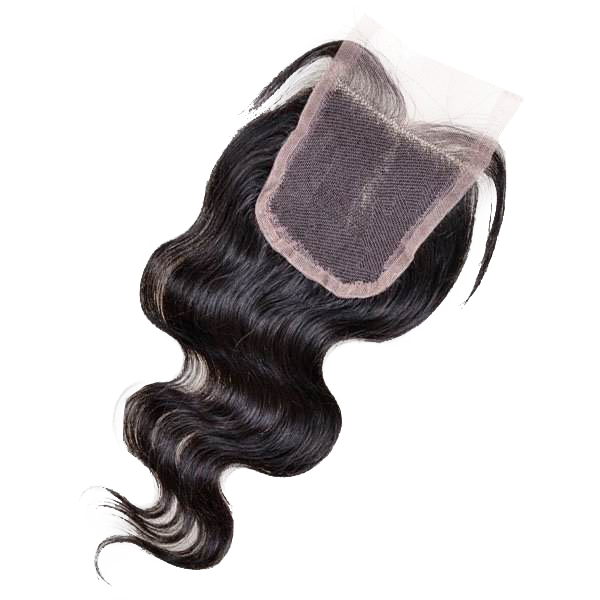 Virgin Body Wave Swiss Lace Closures