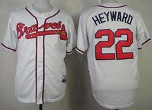separation shoes 8a365 fb46f Jason Heyward Atlanta Braves jersey