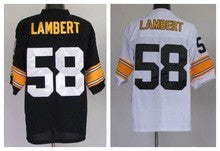 meet 33e48 7f588 Jack Lambert Pittsburgh Steelers jersey