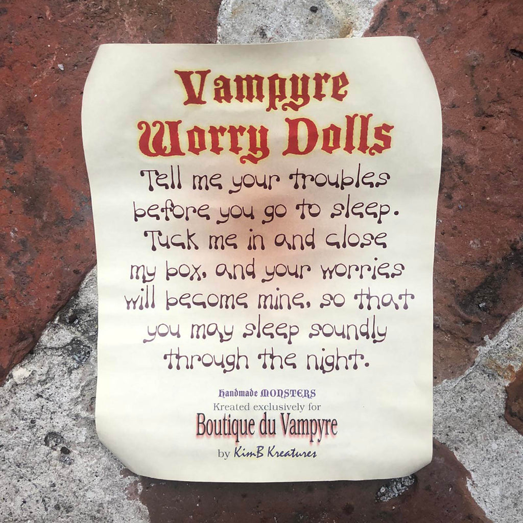 Doll - Vampire Worry Valentine's Day