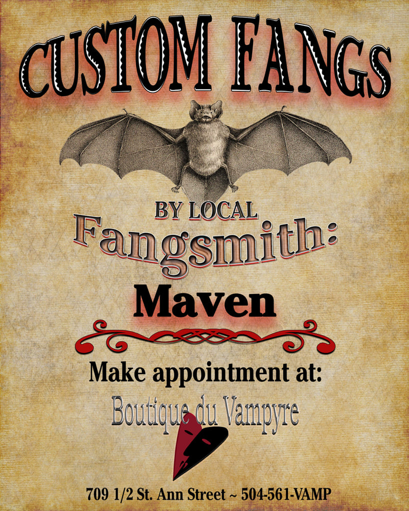 Custom Fangs by Maven