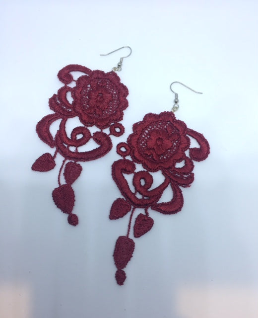 Earrings - Venetian Lace