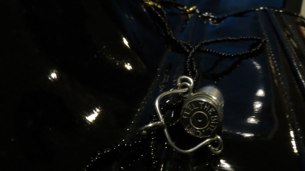 Necklace - Pendant - Silver Bullet