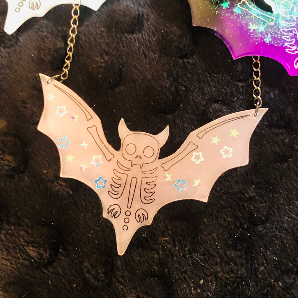 Necklace - Resin - Bat by Tory