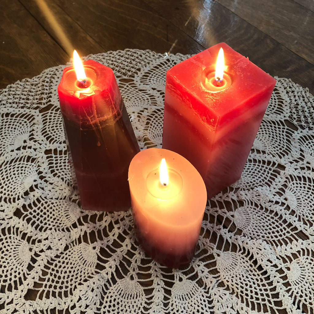 Vampire Fortune Candles - Hexagon and Rectangle