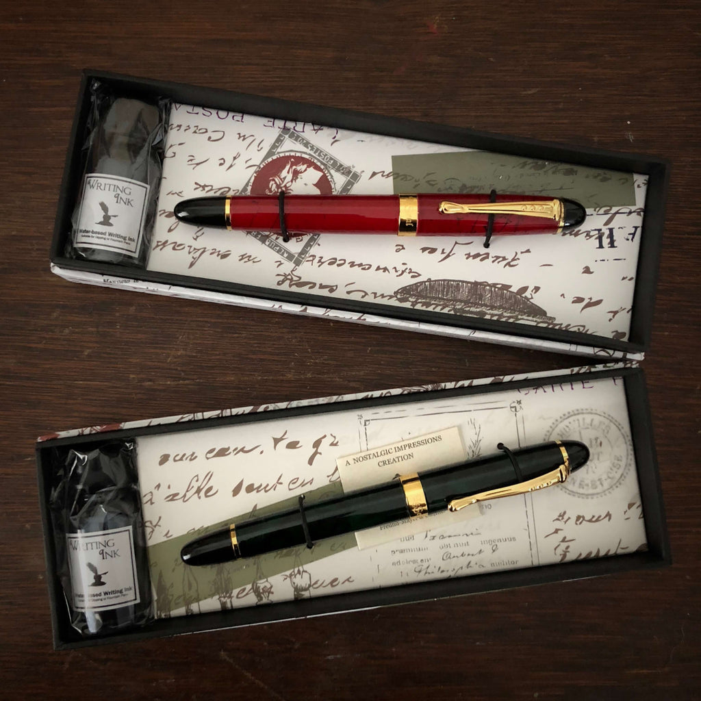 Fountain Pen & Ink Set
