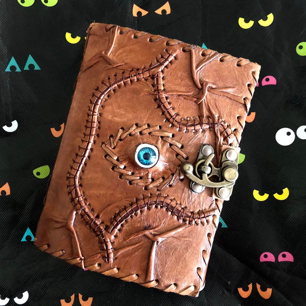 Book - All-Seeing-Eye Leather Bound Journal 5x7