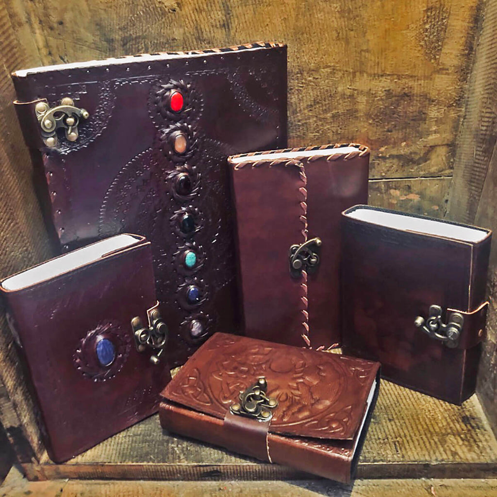 Leather Bound Journal 10 X 13