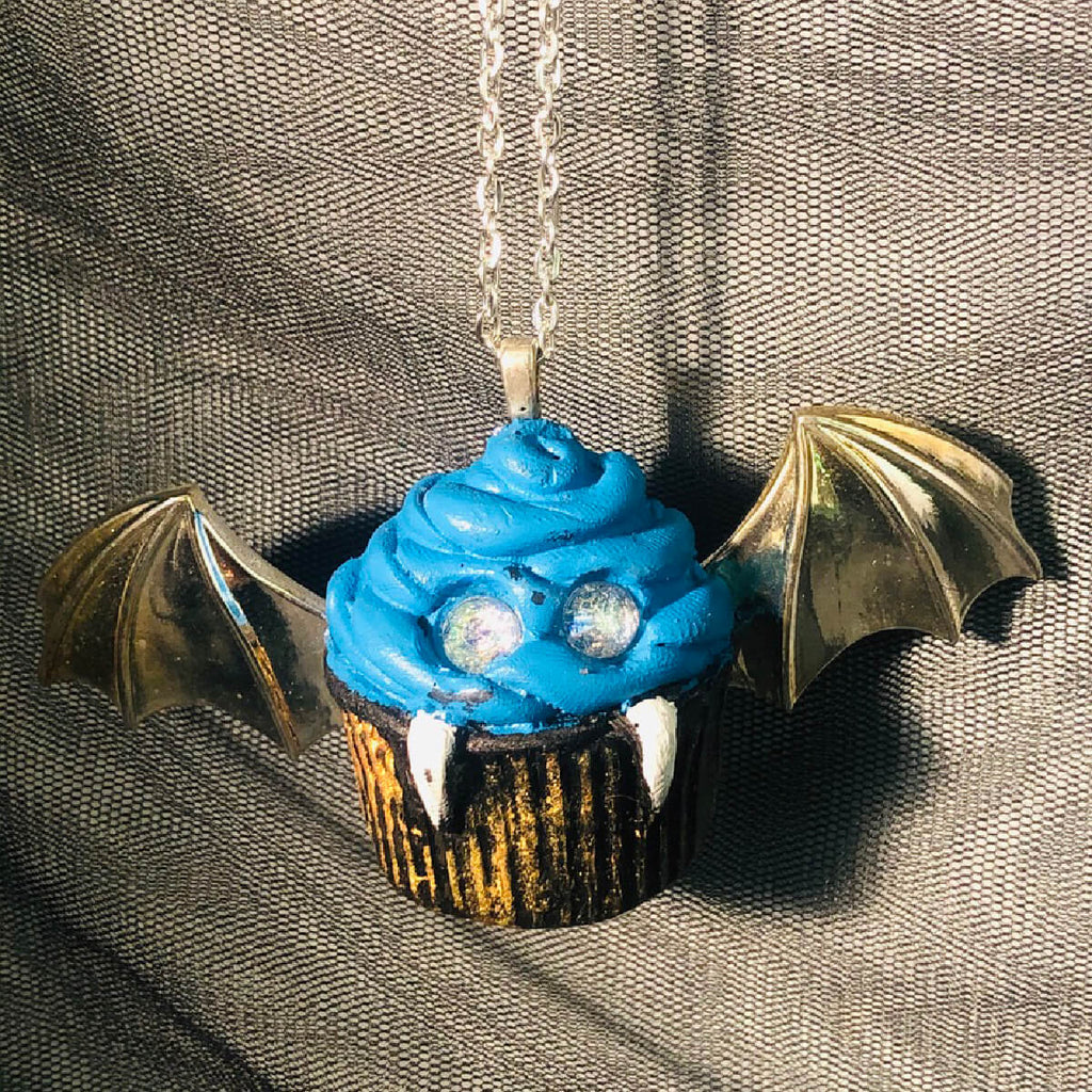 Necklace - Pendant - Vampire Cupcake
