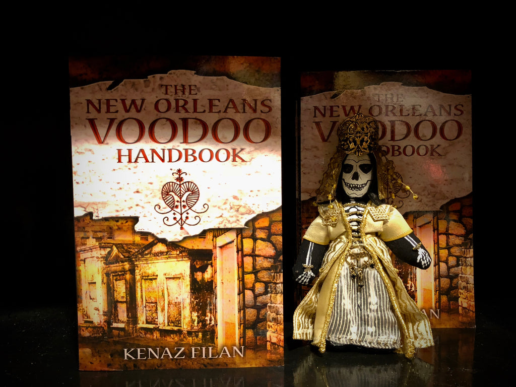 The New Orleans Voodoo Handbook, by Kenaz  Filan