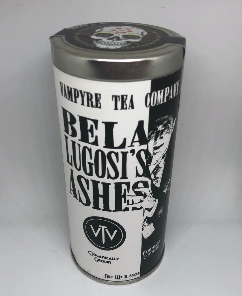 Vampyre Tea Blends in Gothic Tins