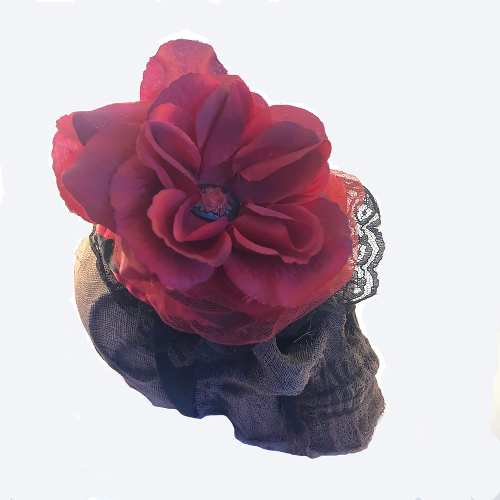 Rose Headband Fascinator