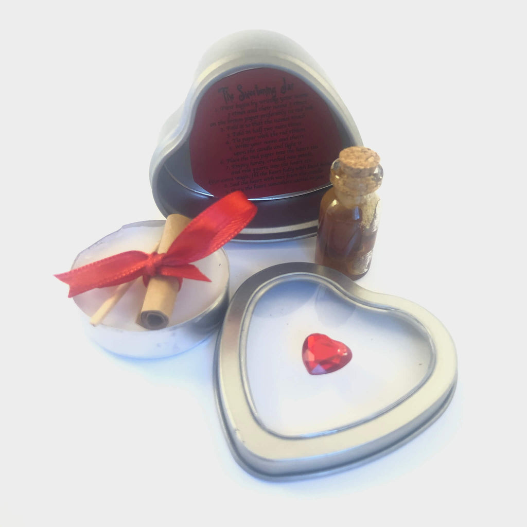 Love Spell Sweetening Jar