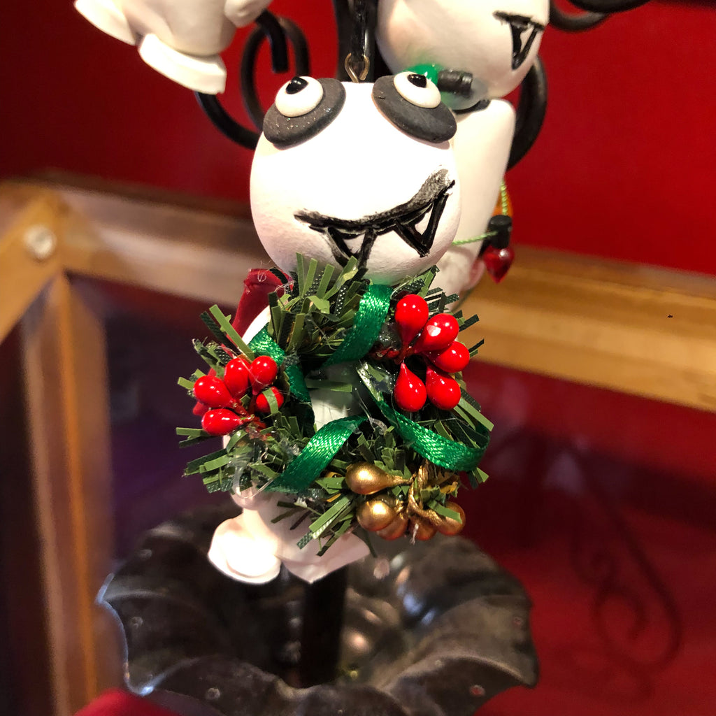 Creepy Christmas Vampire Ornaments - Collectible