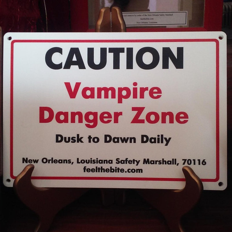 Vampire Danger Zone