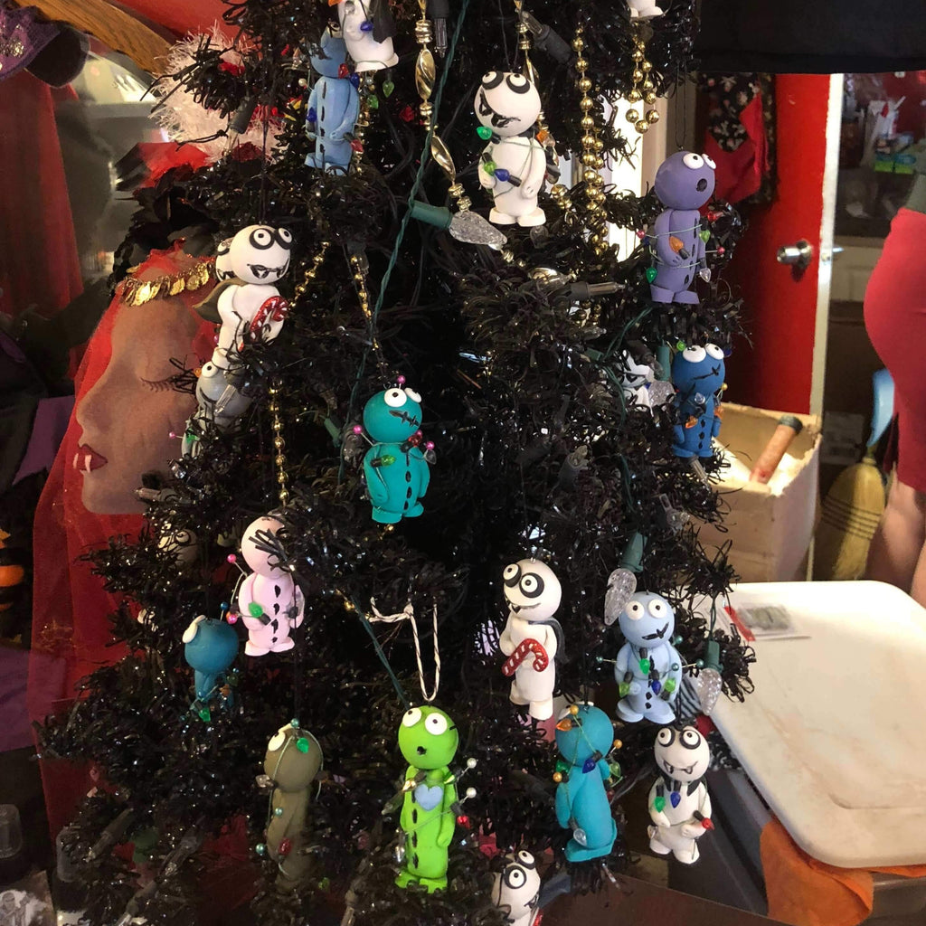 Shishechka as an oddity Christmas tree - decorations and crafts with their own hands