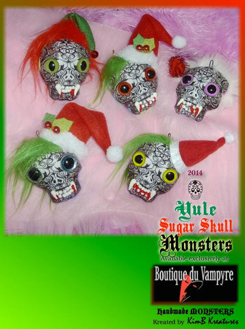 Holiday Sugar Skull Sachets