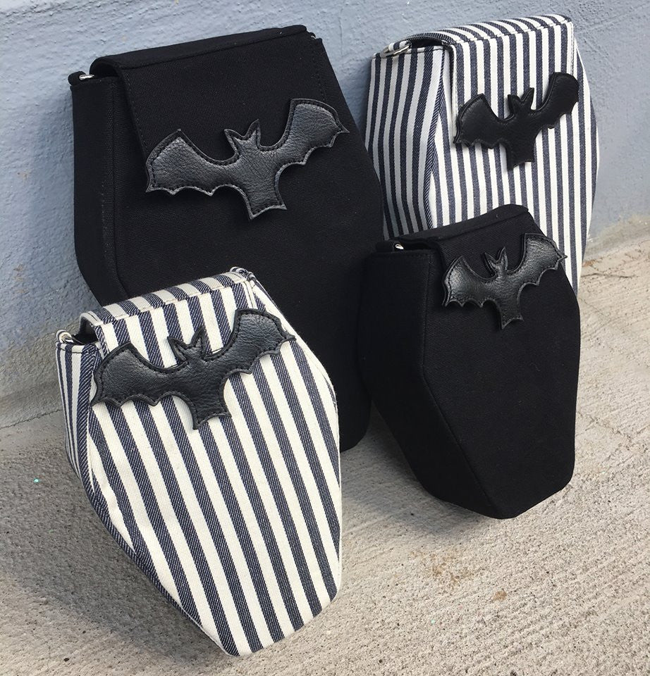 Coffin Backpacks and Purses