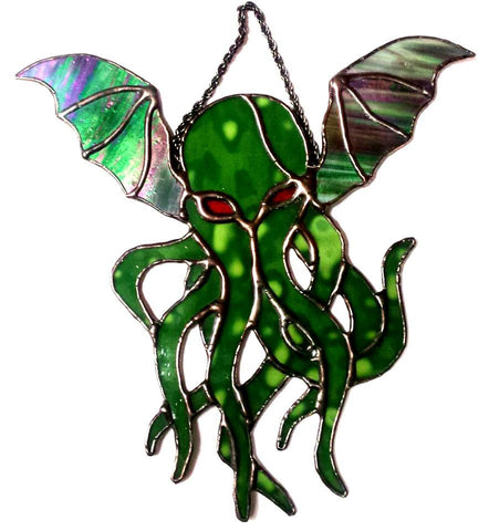 Cthulhu - Stained glass classic