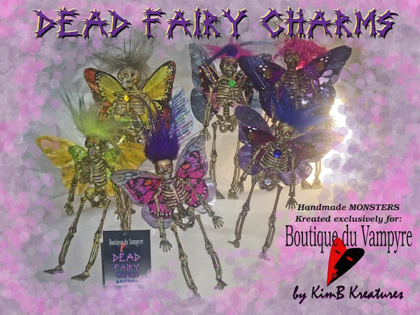 Dead Fairies Charms