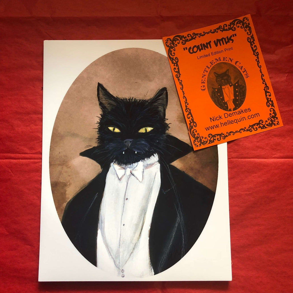 Prints - Gentlemen Cat Prints
