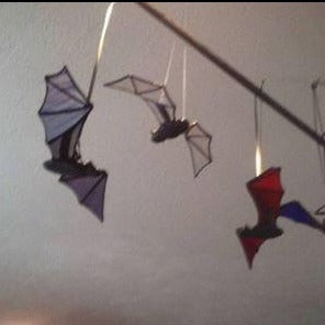 Stained Glass Bats