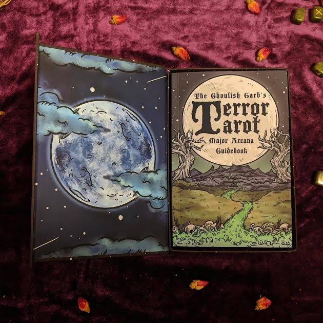 The Ghoulish Garb's Tarot Card Deck and Guidebook