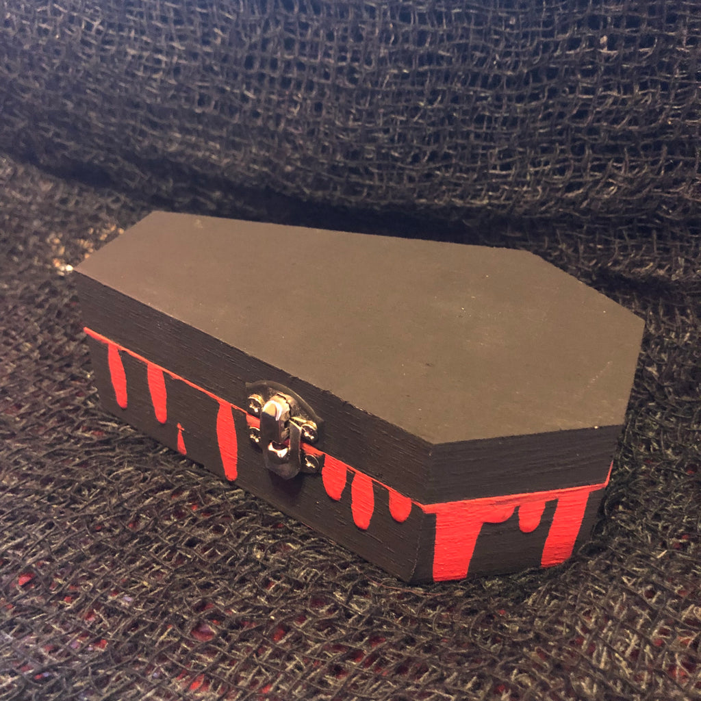 Painted Coffin Box