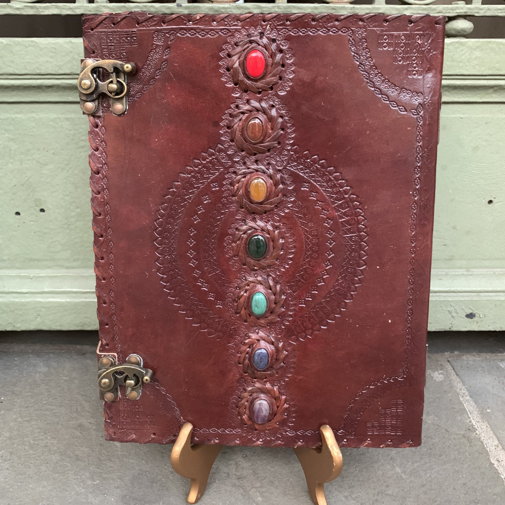 "10 x 13""  Leather Bound Journal"