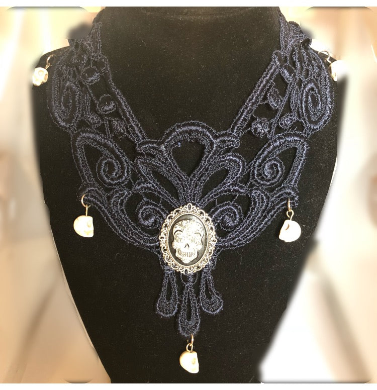 Venetian Lace Necklace